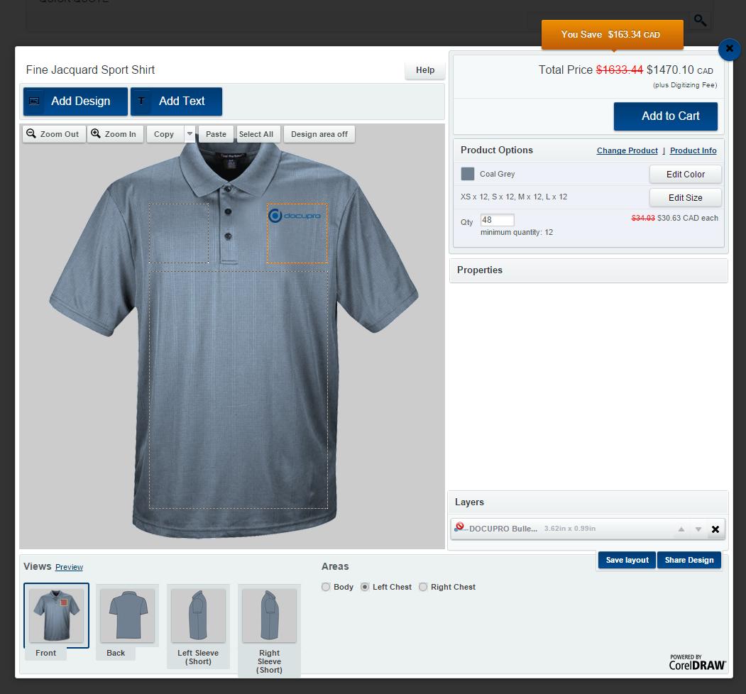 Design Apparel Online